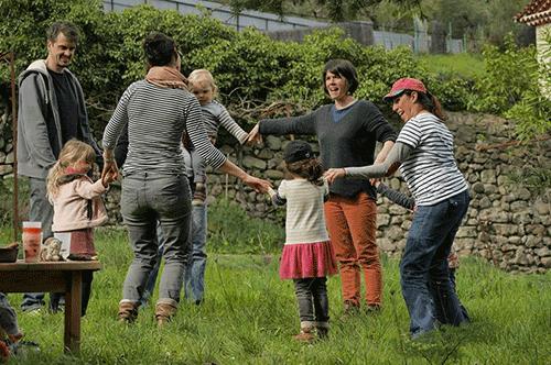 une pause nature en famille